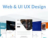 Web & UI UX Design