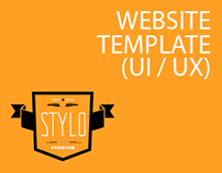 Stylo - Website Template (UI / UX)