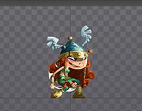 Spine Animation study_ Barbana on Rayman Legend :)