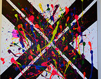 Abstract Painting From a Song of Your Choosing