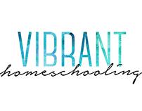 Vibrant Homeschooling Logo Design