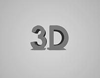 3D Icon Design