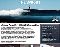 Magazine article on new surfboard/ Advertisment