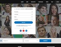 Linkedin Kind Social Network for Jobs Design & Develop