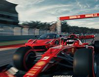 Race Cars vs Road Cars [Full CGI]