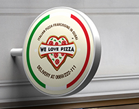WE LOVE PIZZA, italian franchising in Dubai