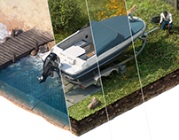 GEICO — Boat Maintenance — Infographic 3D Explainer