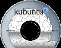 Cover DVD printable for Kubuntu 12.04 and 12.10
