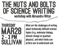 Worcester State Writing Workshop Flyer