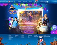 Pepsi e Ellen Roche