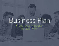 FREE KEYNOTE TEMPLATE - BUSINESS PLAN PITCH DECK