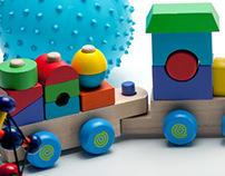 Toys Website Design