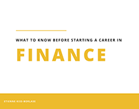 Etienne Kiss-Borlase | Starting a Career in Finance