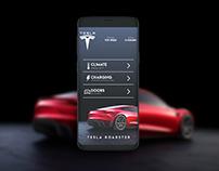 Tesla App UI Design