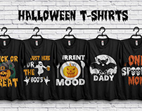 Halloween T-shirts Bundle