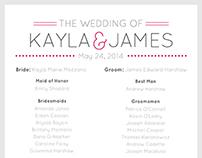Wedding/Invitation Design