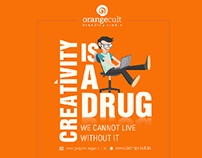 Welcome to our Creative world Orangecult Branding