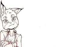 Lynx bocetos
