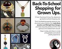 Justin Bortz Jewelers Online & Print Creative
