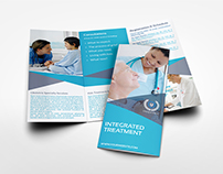 Medical Care Tri-Fold Brochure Template
