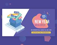 Creatives Design for Edtech Website