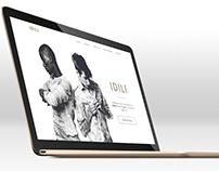 Model Agency site concept