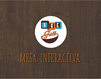 Mesa Interactiva Ice and Grill