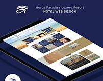 Horus Paradise Luxery Resort Web