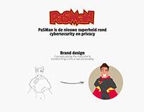 Pasman - Cybersecurity hero brand