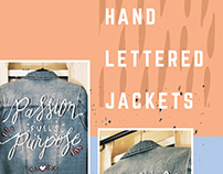 Hand Lettered Jackets