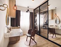 Interior shootof residential space in Bendeemeer