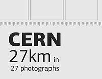 CERN 27km in 27 photographs