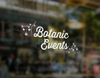 Botanic Events Branding