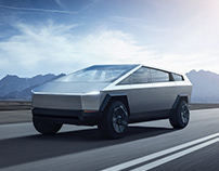 Tesla CyberSUV Concept