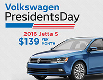 Volkswagen Presidents Day