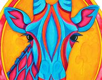Giraffe | Rainbow Menagerie