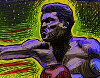 Cassius Clay vs Doug Jones