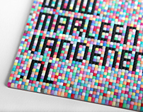 Pixel business card
