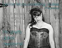 Marketing Design for Indy Burlesque Scene