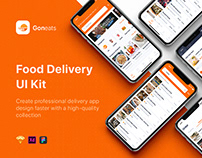 GonEats - Food Delivery UI Kit