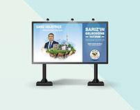 Sarız Belediyesi Billboard