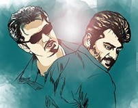 Birthday Art for Thala Ajith Kumar