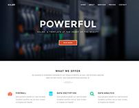 Kuler-multipurpose one/multi page template