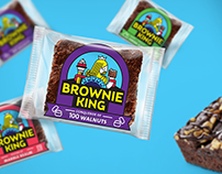 Brownie King - Packaging