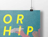 Worship Night Poster