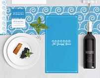 The Summer House Restaurant Branding