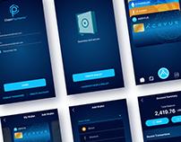 Aeryus Chain Payments | UI/UX 2019 mobile app design