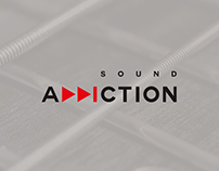 Sound Addiction || Brand Identity
