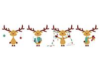 Christmas Mooses