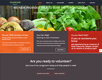 GoodFood Help Website Design